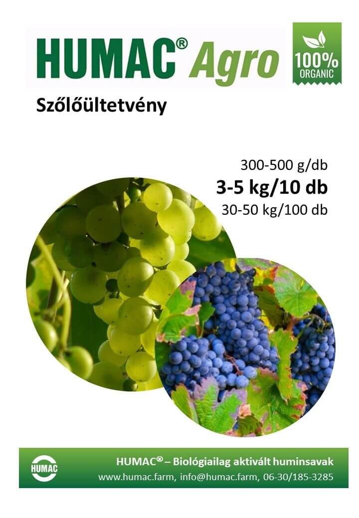 Humac Agro szőlőültetvények