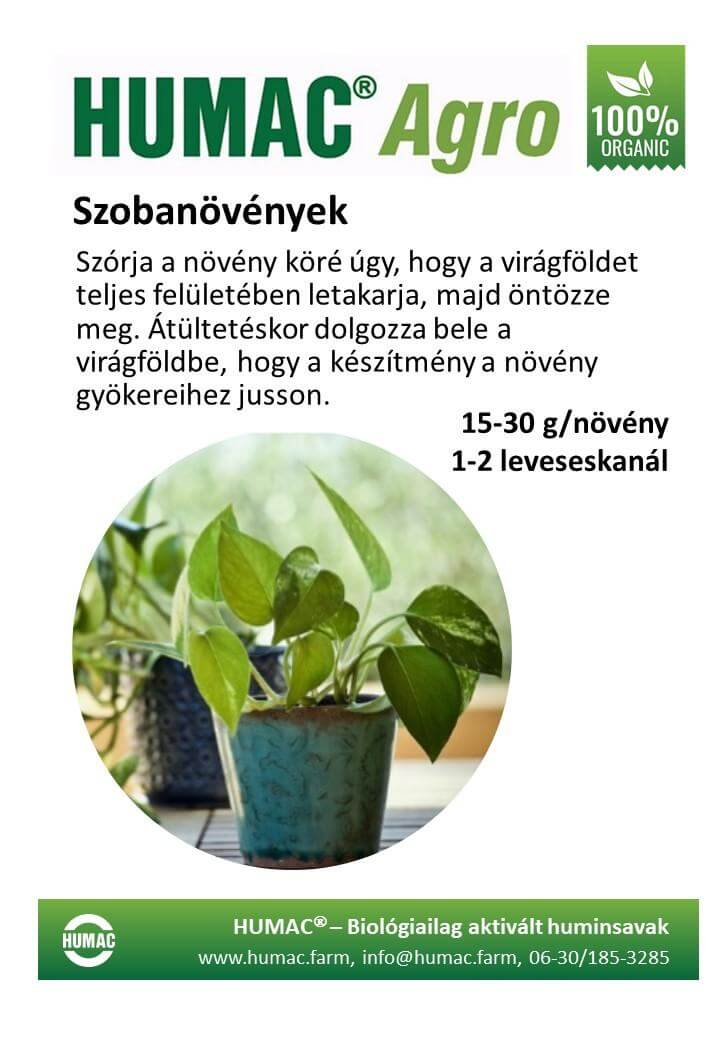 Humac Agro szobanövények