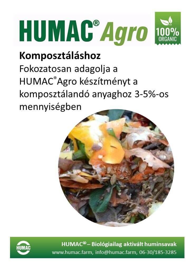 Humac Agro komposzthoz