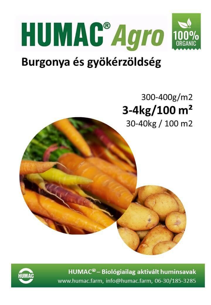 Humac Agro burgonya és gyökérnövények