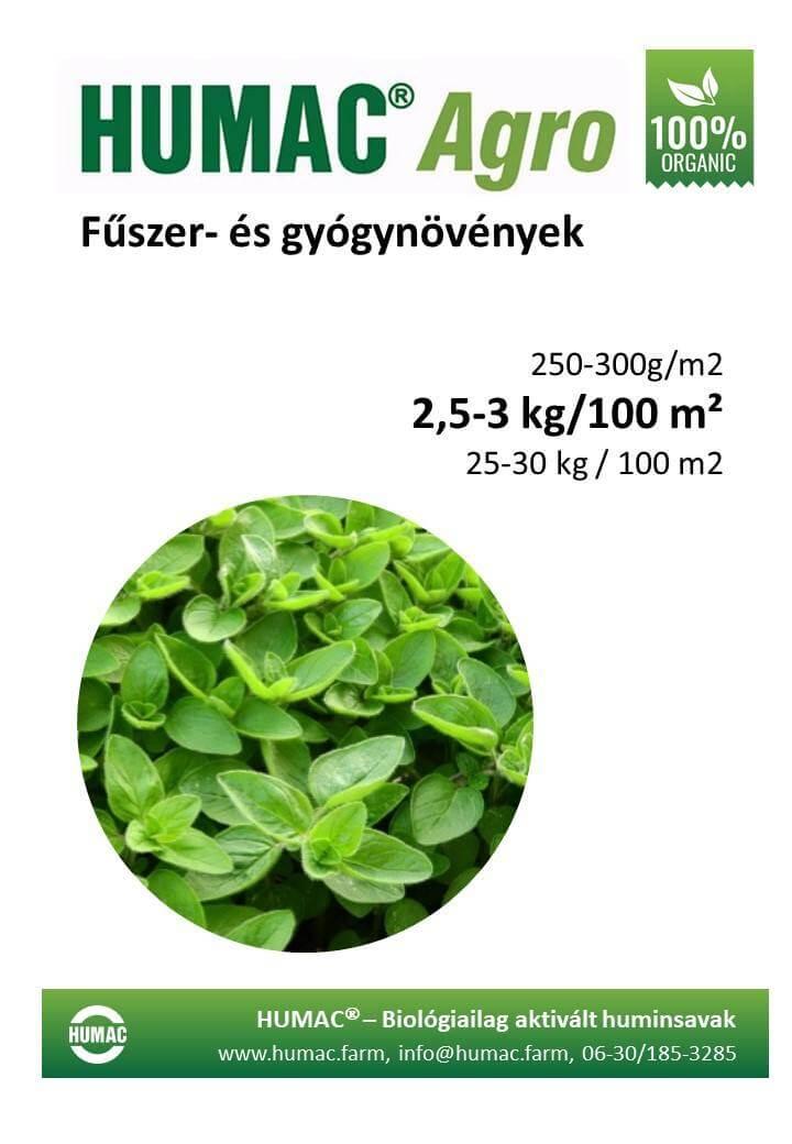 Humac Agro fűszer és gyógynövények