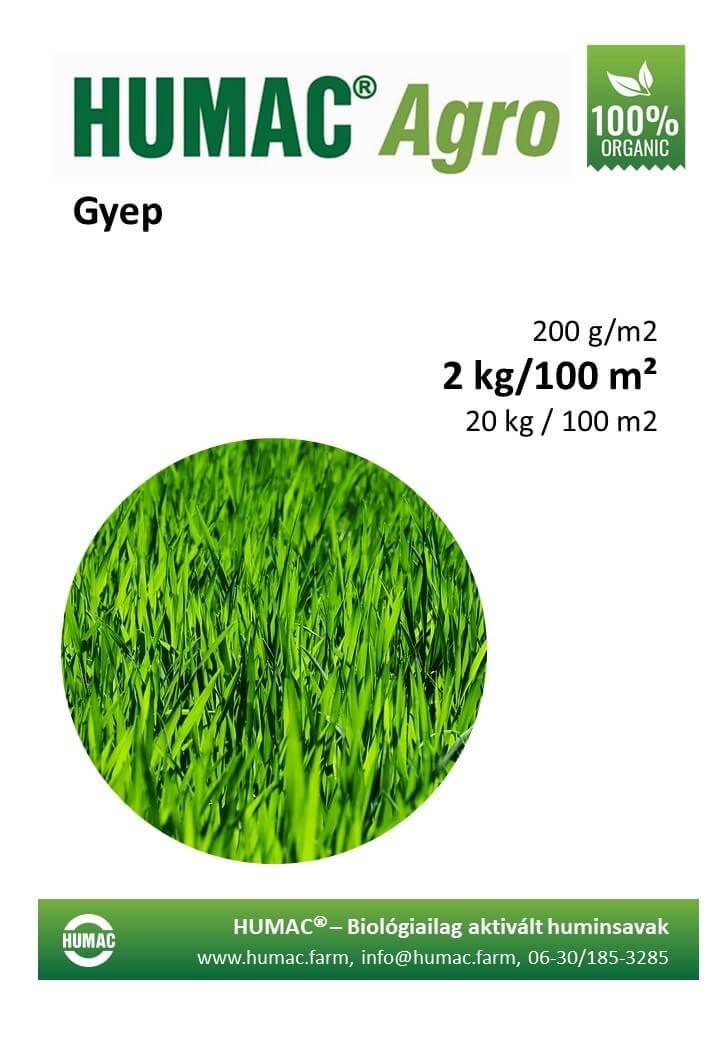 Humac Agro gyep