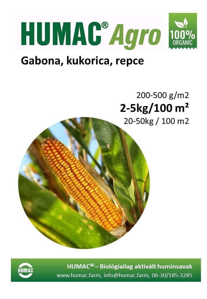 Humac Agro szántóföldi növények